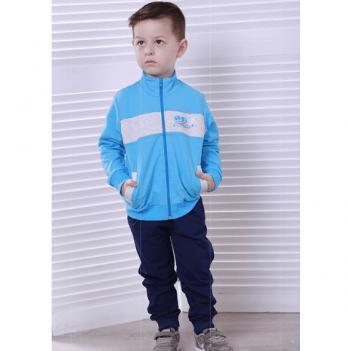 Спортивный костюм для мальчика Joiks, возраст от 2 до 7 лет, синий