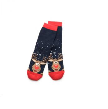 Носочки махровые Модный карапуз, синие размер 16