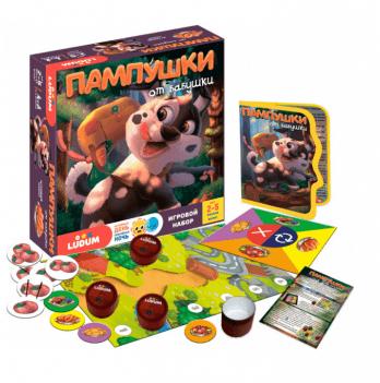 Игровой набор Ludum Пампушки от бабушки, игра+рассказ+аудиосказка, на русском языке