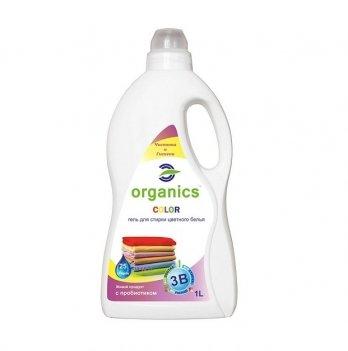 Гель для стирки цветного белья Color Organics 1 л