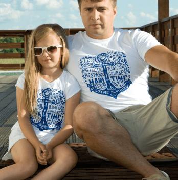 Футболка детская для девочки Модный карапуз LikeМe, белая