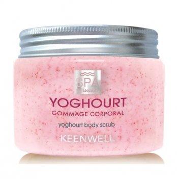 Скраб для тела Keenwell Thalasso Body, Клубничный йогурт