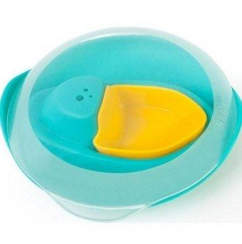Игрушка для ванны и пляжа Quut, Кораблик SLOOPI, цвет зеленый + желтый