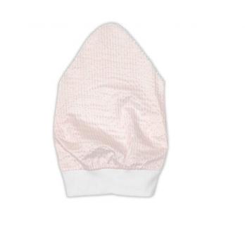 Косынка для девочки Garden baby, персиковая полоска, 43602-35