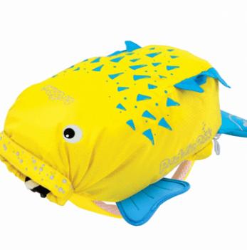 Детский рюкзак Trunki PaddlePak, Рыбка-пузырь, жёлтый