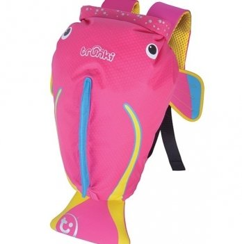 Детский рюкзак Trunki PaddlePak, Рыбка, розовый
