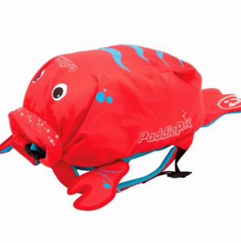 Детский рюкзак Trunki PaddlePak, Лобстер, красный