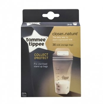 Пакеты для хранения грудного молока Tommee Tippee, 42302241, 36 шт.