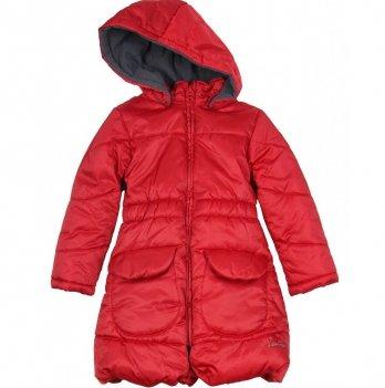 Демисезонное пальто Deux par Deux для девочек X50-2, красное