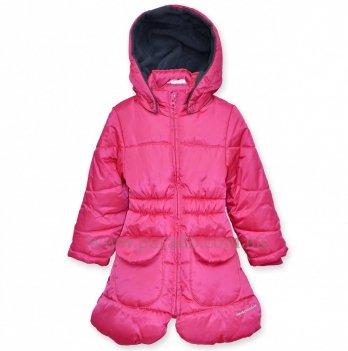 Демисезонное пальто Deux par Deux для девочек X50-2, розовое