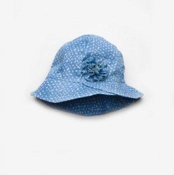Панама для девочки Модный карапуз Голубой 03-00703