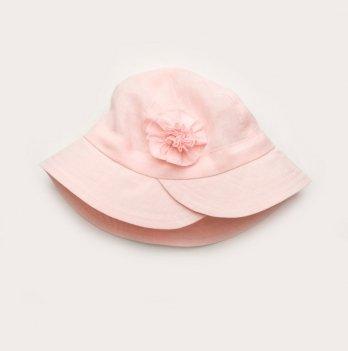 Панама для девочки Модный карапуз 6-24 мес 46-50 Розовый 03-01006