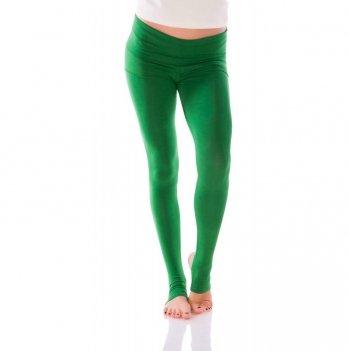 Лосины с шортами и пяткой Zen Wear Пекин зеленые