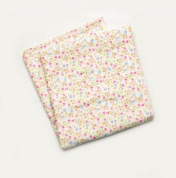 Пеленка фланелевая для девочки Модный карапуз Розовый 03-00617 90х105 см