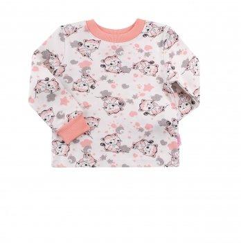 Пижама для девочки Bembi Светло-розовый/Белый Интерлок ПЖ39