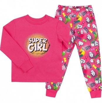 Пижама для девочки Bembi Малиновый Интерлок ПЖ39