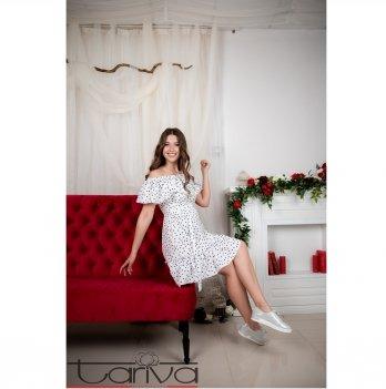 Платье для беременных и кормящих Pois Tariva Cotton 00038 белый