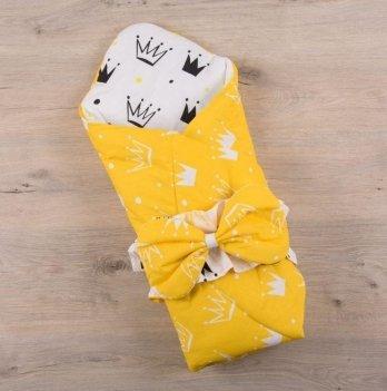 Демисезонный конверт-одеяло весна осень Бетис Королевский Сон Желтый