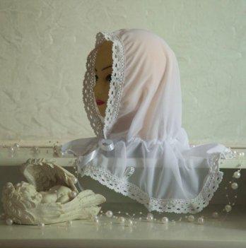 Палантин для взрослых Бетис Волшебный ангел Белый 27682552 80х120 см