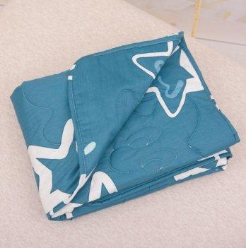 Детское демисезонное одеяло Бетис Яркие звезды Синий 27683343 110х140 см