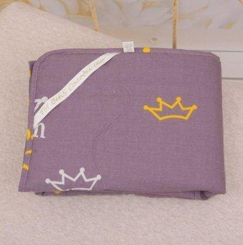 Детское демисезонное одеяло Бетис Корона Фиолетовый 27683341 110х140 см