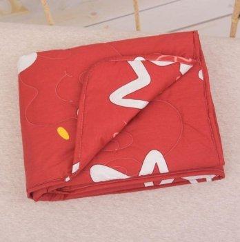 Демисезонное одеяло Бетис Яркие звезды Красный 27683344 110х140 см