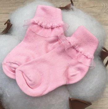 Детские носочки для малышей Бетис Рюш-1 Розовый