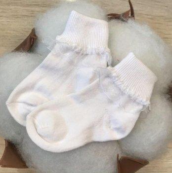 Детские носочки для малышей Бетис Рюш-1 Белый