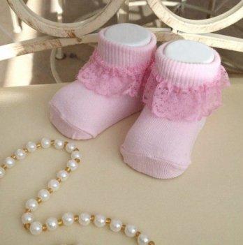 Детские носочки для малышей Бетис Рюш Розовый