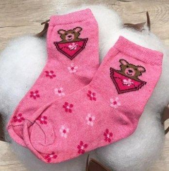 Детские носочки для малышей Бетис Ведмедик Розовый 1055