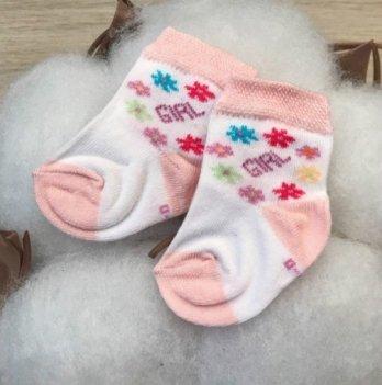 Детские носочки для малышей Бетис Girl Персиковый 1018