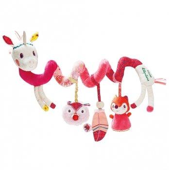 Спиральная игрушка-подвеска Lilliputiens единорог Луиза