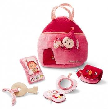 Детская сумочка Lilliputens Красная Шапочка, двусторонняя, с аксессуарами