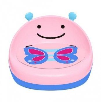 Бустер-стульчик для кормления Skip Hop Бабочка