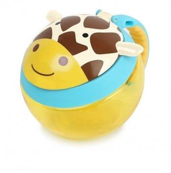 Контейнер-чашка для снеков Жираф Skip Hop 252568