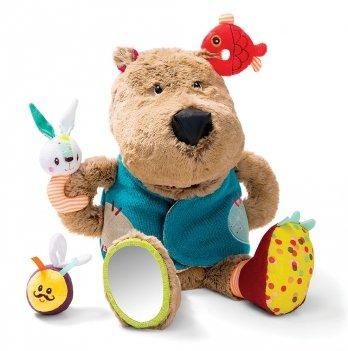 Развивающая игрушка Lilliputens Медведь Цезарь