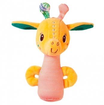 Мини-погремушка Lilliputens жирафка Зиа