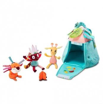 Игровой набор Lilliputiens Домик в джунглях
