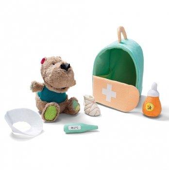 Игровой набор Lilliputiens Медведь Цезарь у ветеринара