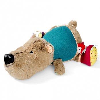 Большая развивающая игрушка Lilliputens медведь Цезарь
