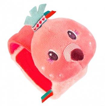 Погремушка-браслетик Lilliputiens фламинго Анаис