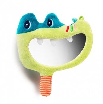 Погремушка-зеркальце Lilliputiens крокодил Анатоль