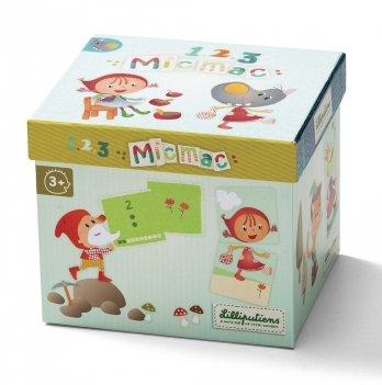 Развивающая игра Lilliputens Карты для счета и ассоциаций