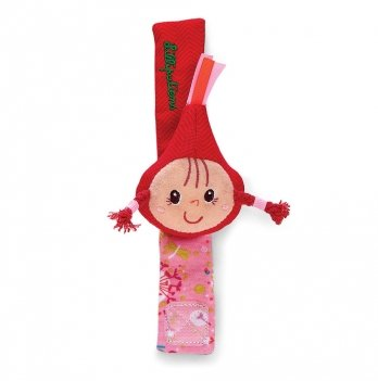 Погремушка-браслетик Lilliputiens, Красная шапочка