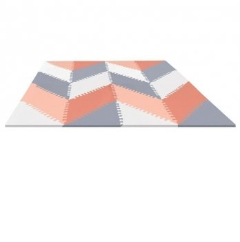 Игровой коврик-пазл Playspot GEO Skip Hop 245412 Grey/Peach