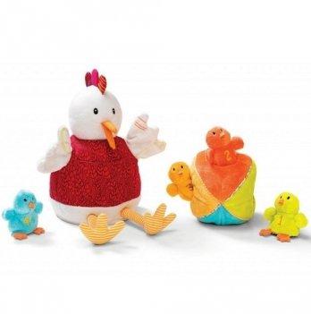 Кукольный театр Lilliputens Курочка Офелия и её цыплята