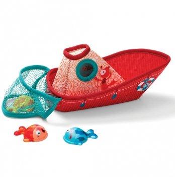 Игрушка для ванны Lilliputens Рыбацкая лодка