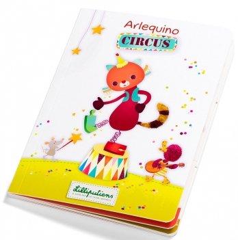 Картонная книга Lilliputiens, Цирк
