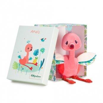 Мягкая игрушка Lilliputens фламинго Анаис