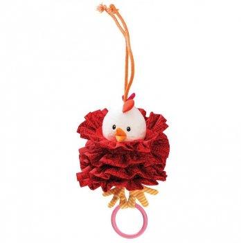 Танцующая игрушка с кольцом Lilliputens Курочка Офелия